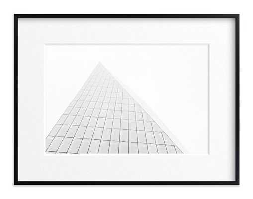 Pyramid Building by Anna Western - Minted