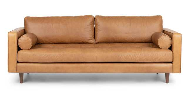 Sven Charme Tan Sofa - Article