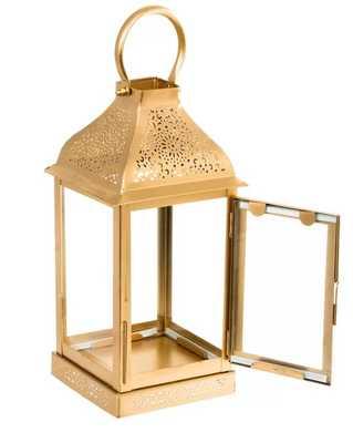 Metal/Glass Lantern - Wayfair