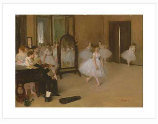 The Dancing Class C.1871, 30x40 - art.com