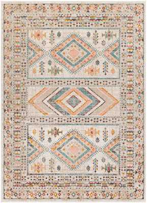 "Salma Rug, 7'10""x 10'3"", Pale Pink - Roam Common"