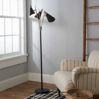 TRI SPIKED FLOOR LAMP - Shades of Light