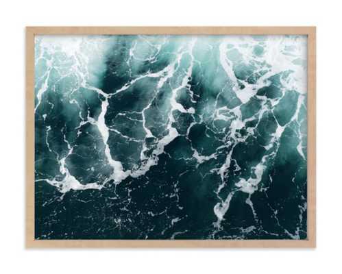 Wave Patterns, framed art print - Minted