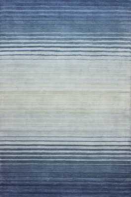 Critchfield Handmade Wool Blue Area Rug - Wayfair