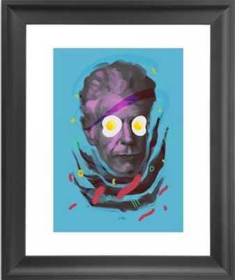 Chef Anthony, POP art style, digitally painted Framed Art Print - Society6