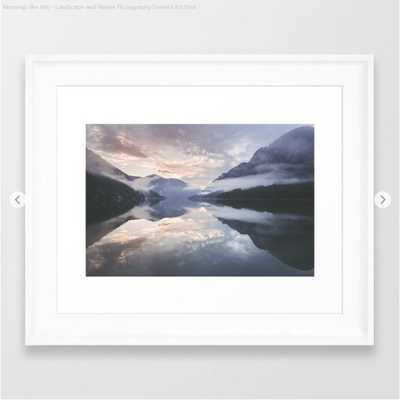 Mornings like this - Landscape and Nature Photography Framed Art Print - Society6