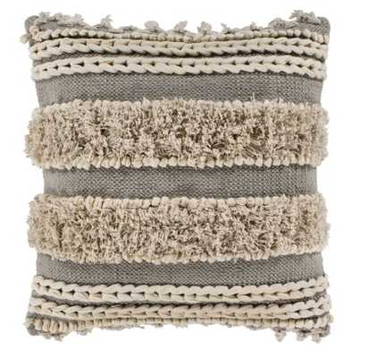 MOUNA PILLOW, TAUPE with insert - Lulu and Georgia