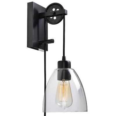 Cyrus 1-Light Plug-In Swing Arm - Wayfair