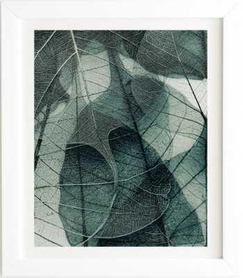 OLIVE GREEN White Framed Wall Art - Wander Print Co.