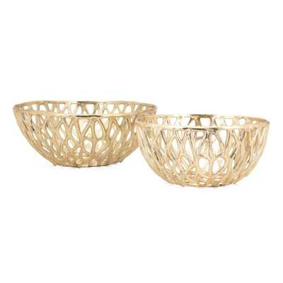 Abbey Bowls - Set of 2 - Mercer Collection
