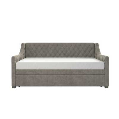 Monarch Hill Ambrosia Upholstered Twin Daybed with Trundle - Wayfair