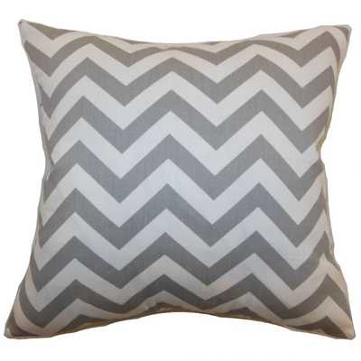 XAYABURY ZIGZAG PILLOW ASHES - Linen & Seam