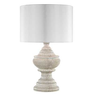 INDOOR/OUTDOOR HOBNAIL FINIAL TABLE LAMP - Shades of Light