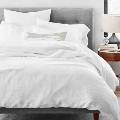 Belgian Flax Linen Duvet Cover Queen - West Elm