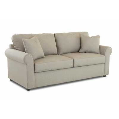 Brighton Gray Sofa, Grey - Home Depot