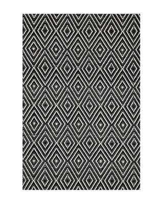 DIAMOND BLACK INDOOR / OUTDOOR RUG, 10' x 14' - McGee & Co.
