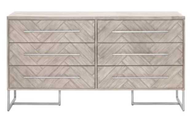Everly Quinn Fishel 6 Drawer Double Dresser - Wayfair