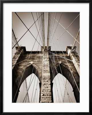 THE BROOKLYN BRIDGE, A NATIONAL LANDMARK - art.com