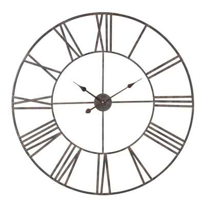 Oversized Eisenhauer Wall Clock - Wayfair