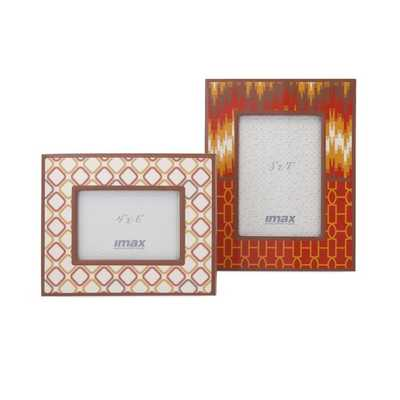 Essentials Energetic Photo Frames - Set of 2 - Mercer Collection