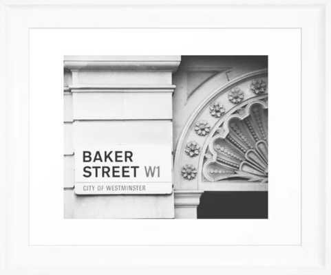 70 Baker Street Framed Art Print - Society6