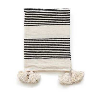 Perry Stripe Throw Blanket - Cove Goods