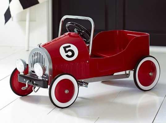 Red Retro Pedal Car - Pottery Barn Kids