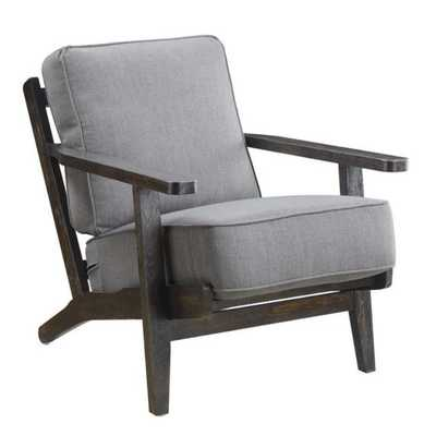 Ryder Accent Chair ANTIQUE WOOD - Cliff Gray - Apt2B