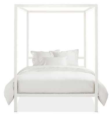 ARCHITECTURE CANOPY BED - White - Full Size - Room & Board