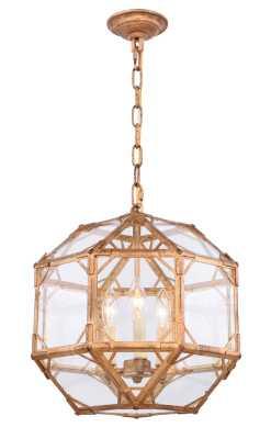 Puccio 3-Light Geometric Chandelier - Wayfair