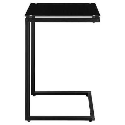 Resort Glass Top C Table - Black - Room & Joy - Target