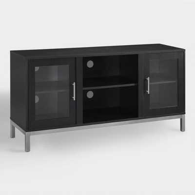 Black Wood Cyril Media Stand by World Market - World Market/Cost Plus