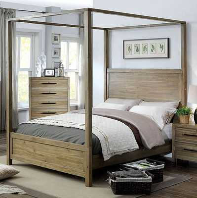 Atchison Canopy Bed - Wayfair