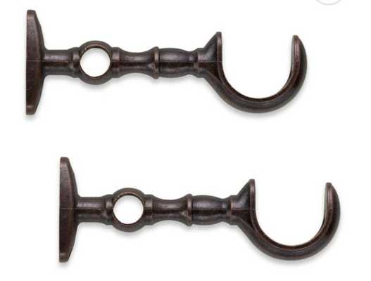 Cambria® Elite Replacement Brackets in Oil Rubbed Bronze (Set of 2) - Bed Bath & Beyond
