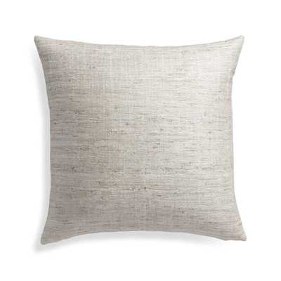 "Trevino Alloy 20"" Pillow Cover - Crate and Barrel"