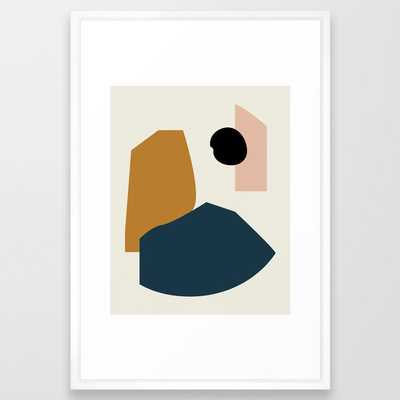 Shape study #1 - Lola Collection Framed Art Print - Society6