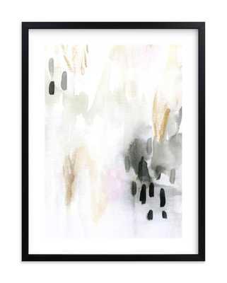 "Ever Softly - 18"" x 24"" - Rich Black Frame - White Border - Minted"