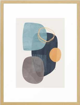 Cyra Framed Art Print 26 x 38 - Society6