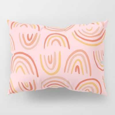 Rainbow Print Pillow Sham (set of 2) - Society6