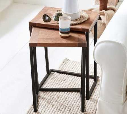 Granger Reclaimed Wood Nesting Tables - Pottery Barn