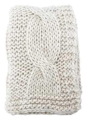 Forsan Chunky Knit Throw - Wayfair