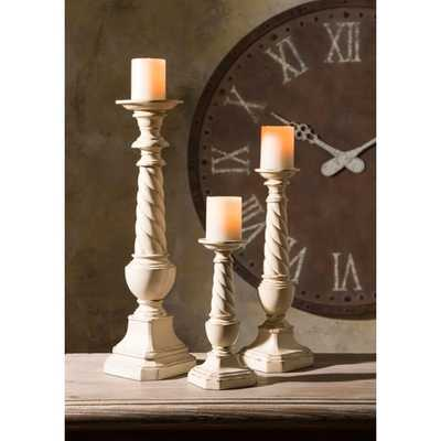 Brannon Candleholders - Set of 3 - Mercer Collection