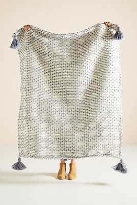 Textured Bobble Throw Blanket - Anthropologie