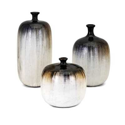 Elon Vases - Set of 3 - Mercer Collection