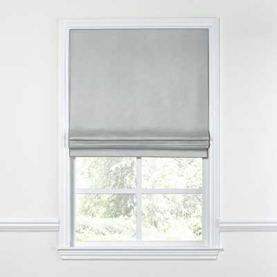 Grey Linen Shades - Roman - Loom Decor