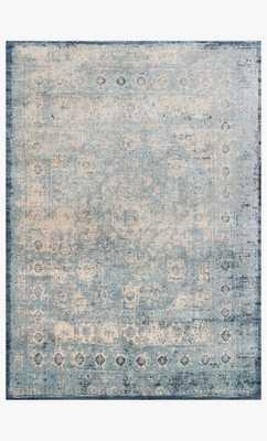 AF-14 LT. BLUE / IVORY Rug - Loma Threads