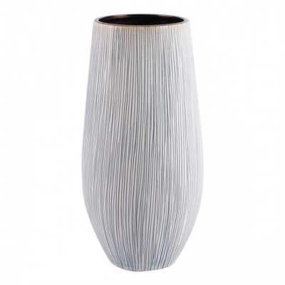 Anam Large Vase White - Zuri Studios