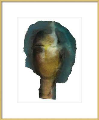 Woman Head by Boriana Mihailovska - Artfully Walls
