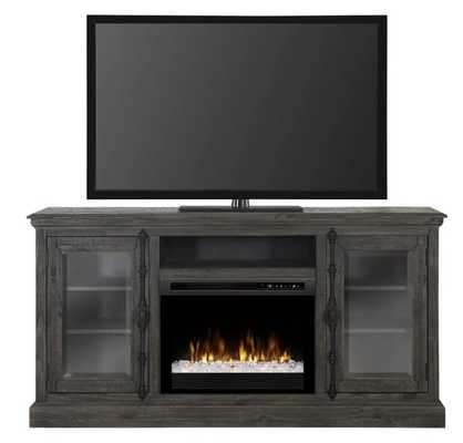 "TV Stand for TVs up to 65"" with Fireplace - Wayfair"