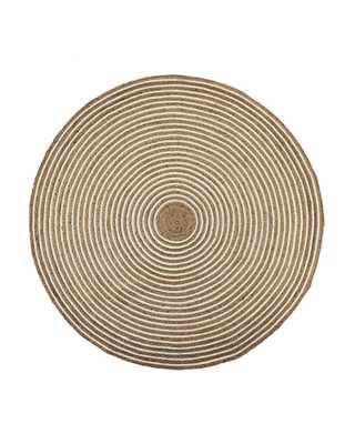 Round Cotton & Jute Rug - 8' Round - Serena and Lily